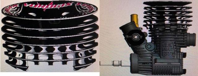 YURUGIX YE-12001/1 YURUGIX-TG12Ver.3 ツーリング用エンジン【ブレークイン済み/ご予約商品です】