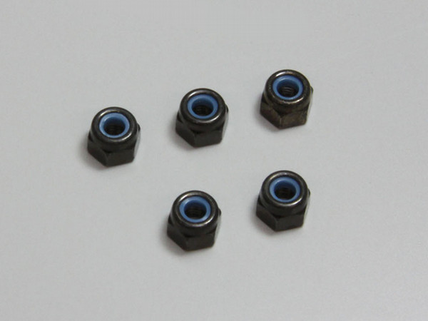 KYOSHO 1-N3043N ナット(M3x4.3) ナイロン (5入)