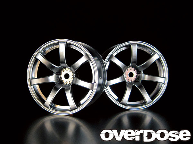 OVERDOSE OD1088 WORK EMOTION XT7 【 マットクローム/OFF+5/2pcs】