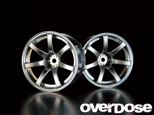 OVERDOSE OD1091 WORK EMOTION XT7 【 マットクローム/OFF+7/2pcs】