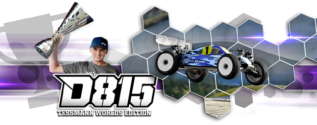 HPI 114615 HB D815 TESSMANN WORLDS EDITION KIT