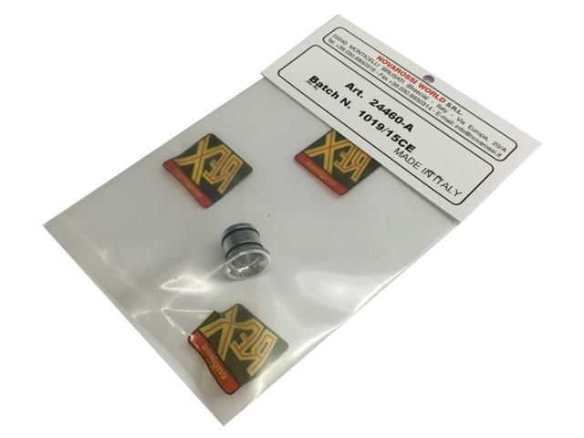 NOVAROSSI 24460-A レデューサーφ6.0mm(アルミ製/21キャブ用)
