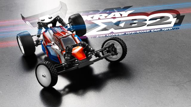 XRAY 320000 XRAY XB2 カーペットエディション 2WDバギーキット