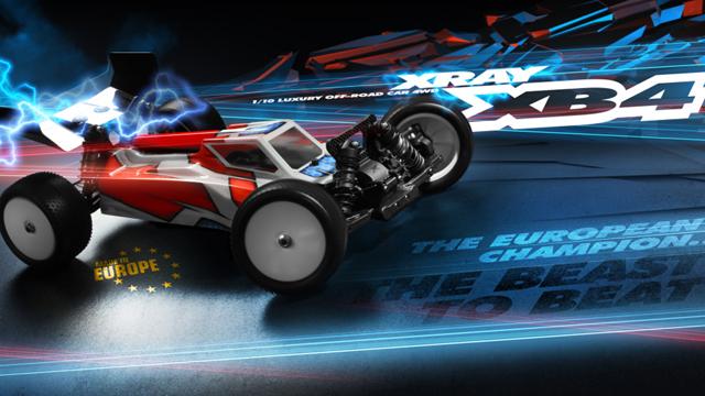 XRAY 360003 XRAY XB4 2016 1/10EP 4WD バギーキット