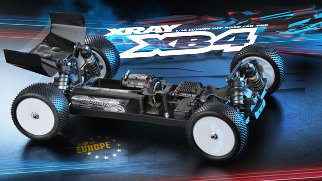 XRAY 360003 XRAY XB4 2016 1/10EP 4WD バギーキット【ご予約商品です】