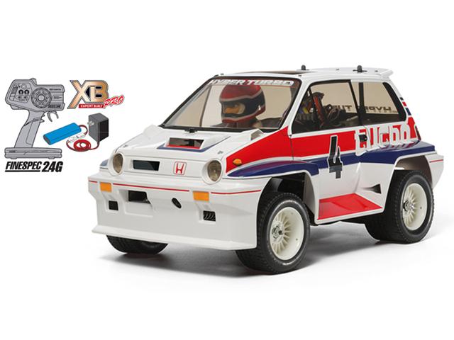 TAMIYA 57894 XB Honda シティターボ(WR-02Cシャーシ)