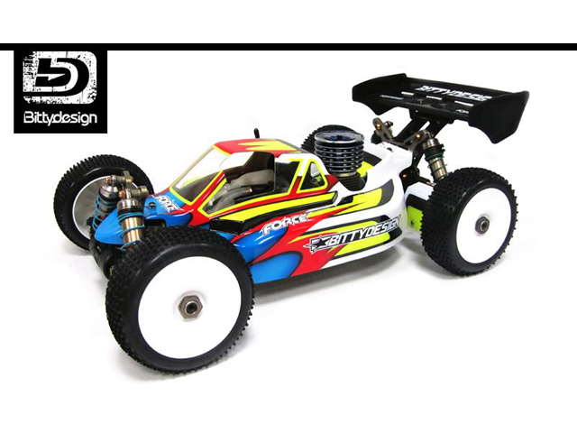 Bittydesign BDFRC-K003 FORCE 1/8 Buggy Body 【Kyosho MP9 TKI3用/クリア】