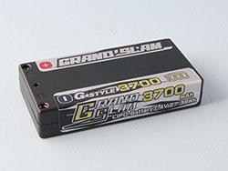 G☆STYLE GB30101 GRAND SLAM LIPO 3700 100C 4mmコネクター仕様 ブラック