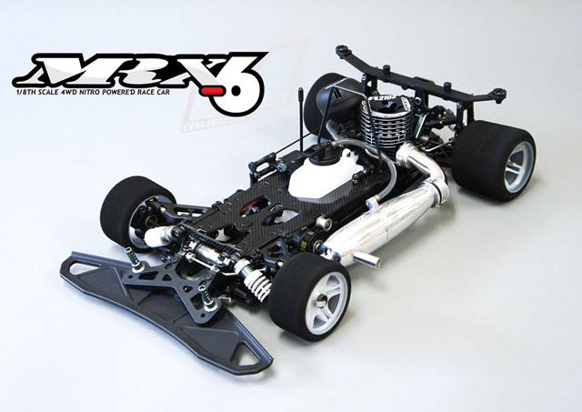 MUGEN H2006 MRX-6 CAR KIT【ご予約商品です】