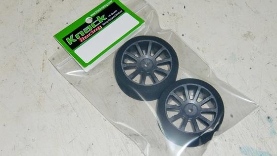 Knack MA2635JC MATRIX 1/10GPツ−リング フロントタイヤ35°【径63mm/2015年選手権コントロ-ルタイヤ仕様】
