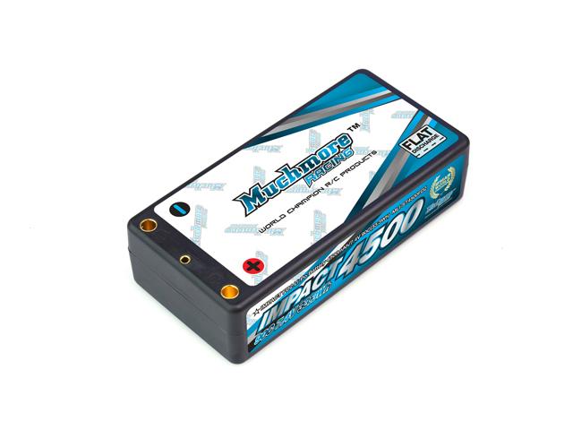 Mucmore MLI-ST4500FD2 インパクト FD2 Li-Poバッテリー4500mAh/7.4V 90C ショッティハードケース・ピン仕様
