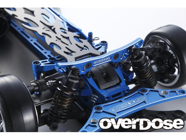 OVERDOSE OD2055 OD コンセプト アルミバルクヘッド 初回限定コンプリートセット(For ドリパケ/ レッド)※写真はブルーです※