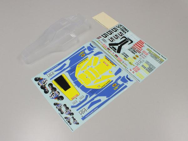 KYOSHO OTB245 ノンデコレーションボディセット (オプティマ)