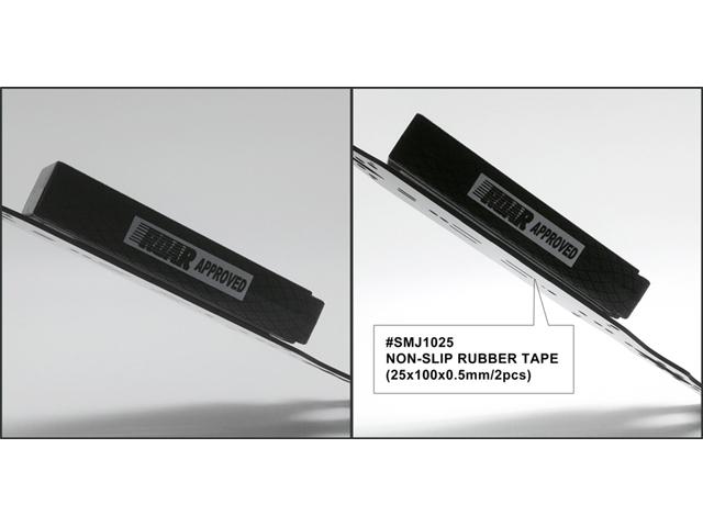SMJ SMJ1025 滑り止めラバーテープ(25x100x0.5mm/2pcs)