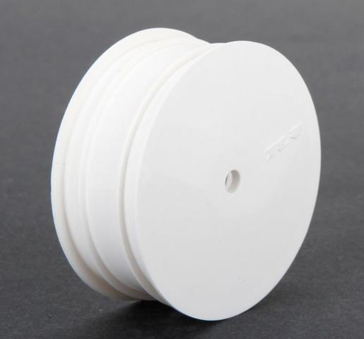 TEAM LOSI TLR43009 フロントホイール/12mm6角(ホワイト/2pcs/22 3.0)