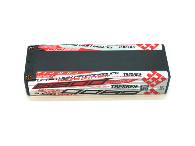 TRESREY TYBT6802 トレスレイ レーシングリポバッテリー (7.4V/6800mAh/90C)