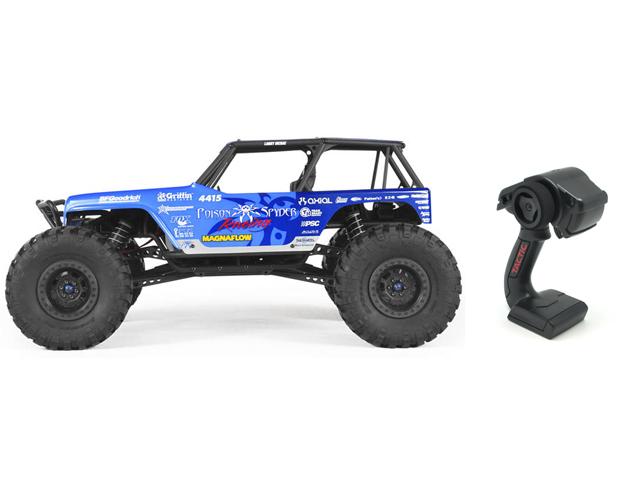 AXIAL AX90031 Axial Jeep ラングラー レイス ポイズンスパイダー4WD RTRキット