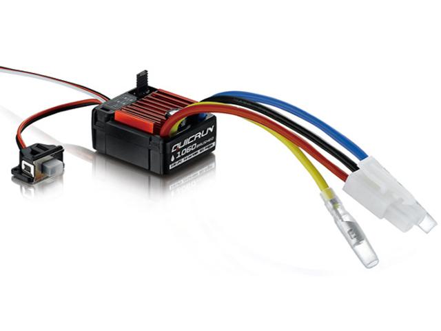 HOBBYWING HW30105060001 QuicRun-1625-1060-ブラシモーター用ESC