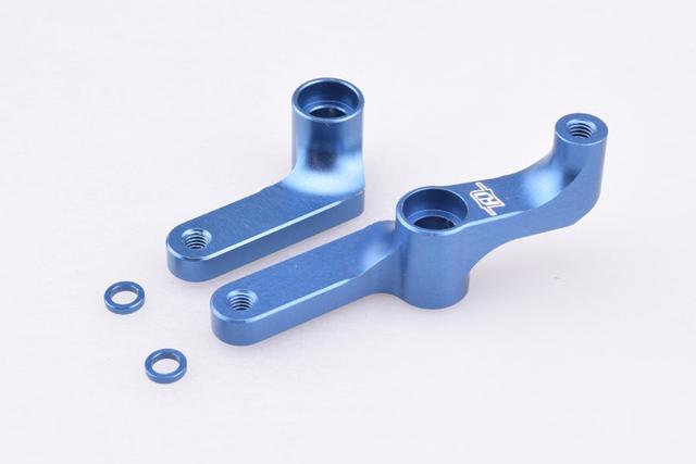 RDRP RDRP0250-BL アソシB5/B5M/T5M/SC5M用アルミ製ベルクランク【ブルー】