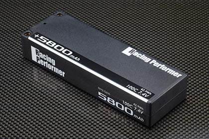 YOKOMO RPB-58R レーシングパフォーマー Li-po 7.4V 5800mAh 100C バッテリー(+5mm/-4mmコネクター仕様)