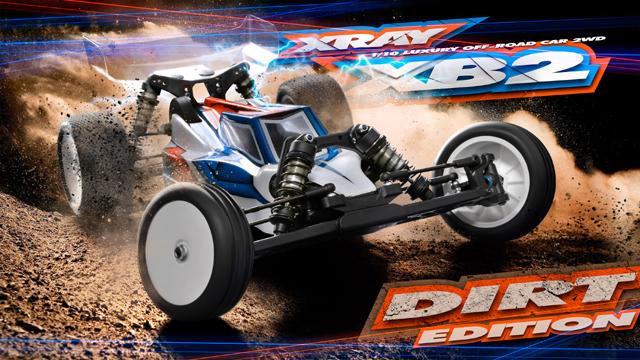 XRAY 320001 XRAY XB2 ダートエディション 2WDバギーキット