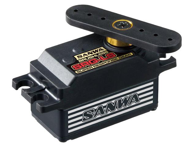 SANWA 107A54374A SRG-LS ブラシレスロープロサーボ【ブラックバージョン】