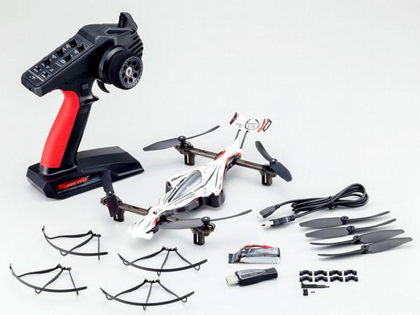 KYOSHO 20571W DRONE RACER G-ZEROダイナミックホワイト レディセット