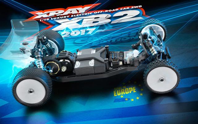 XRAY 320002 XRAY XB2 2017specカーペットエディション 2WDバギーキット【ご予約商品です】