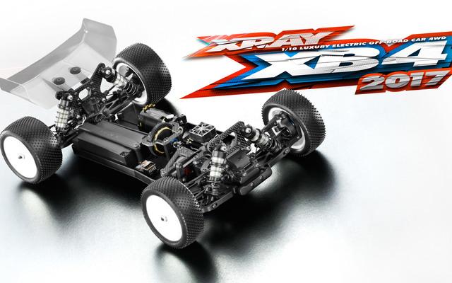 XRAY 360004 XRAY XB4 2017 4WDバギーキット【ご予約商品です】