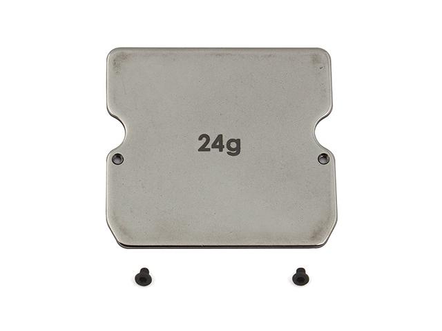 ASSOCIATED AS-91747 B6 スチール製シャーシウエイト【25g】