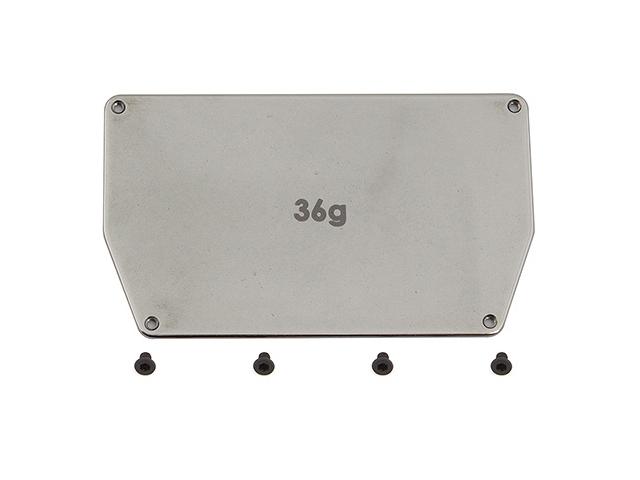 ASSOCIATED AS-91748 B6 スチール製シャーシウエイト【36g】