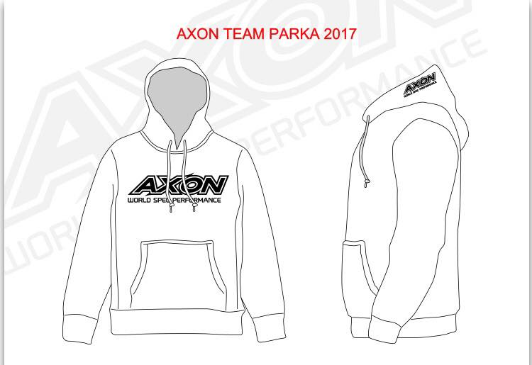 AXON AC-WP-003 AXON TEAM PARKA【XLサイズ/ホワイト】