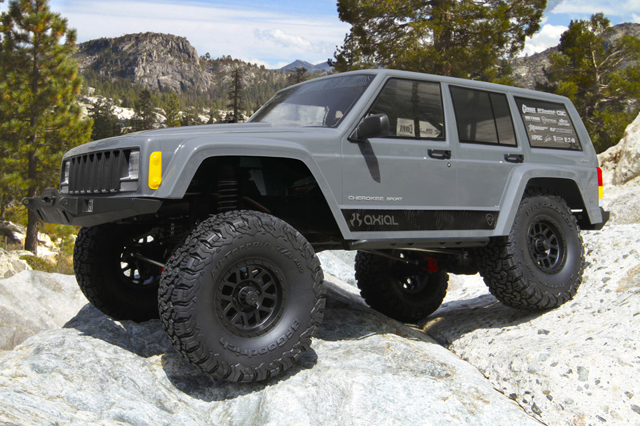 AXIAL AX90047 SCX10 Ⅱ Jeep ラングラーチェロキー 1/10 電動 4WD RTR(組立済みキット)