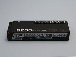 G☆STYLE GB30132 GRAND SLAM LIPO 6200 100C 4mmコネクター仕様