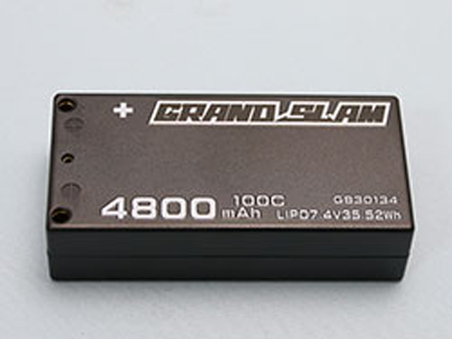 G☆STYLE GB30134 GRAND SLAM LIPO 4800 100C 4mmコネクター仕様