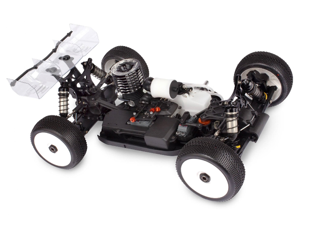 HB RACING 204124 HB D817 1/8 Competition Nitro Buggy