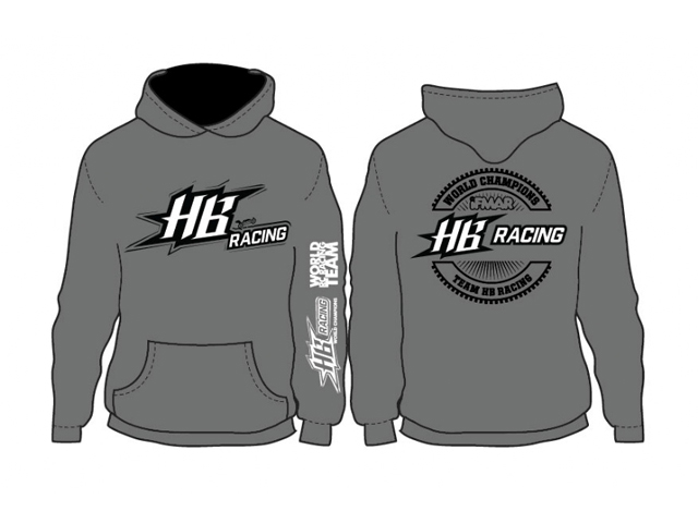 HPI 204182  HB RACING World Champion HB Racing Hoodie【サイズM】