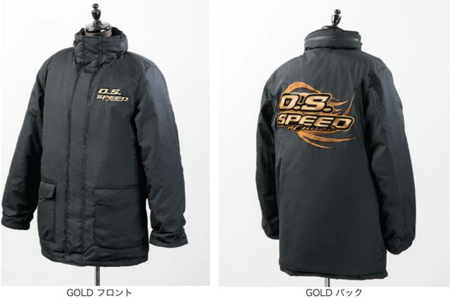 O.S.ENGINE 79883040 O.S.SPEED レーシングブルゾン【GOLD / Mサイズ/ご予約特別価格/10月末入荷予定です】