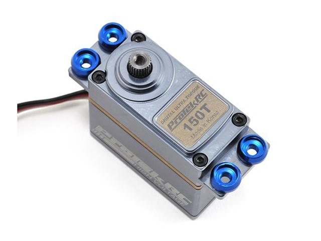 ProTek RC PTK-3041 アルミサーボマウント グロメト(Blue) (4pcs)