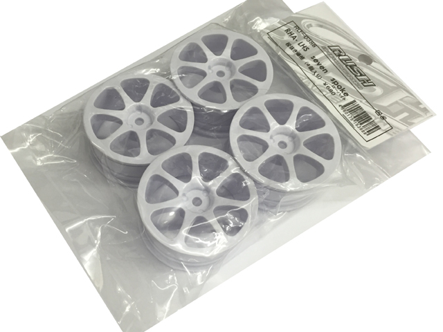 RUSH RU-0388 RHA-LHS SEVEN SPOKE Wheel 【ローハイト/4個入】