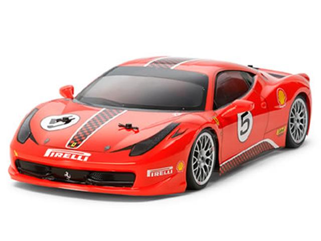 TAMIYA 47322 フェラーリ 458 チャレンジ 軽量ボディパーツセット