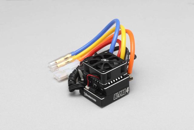 YOKOMO BL-PRO4B BL-PRO4 スピードコントローラー(コード取り付け済み)