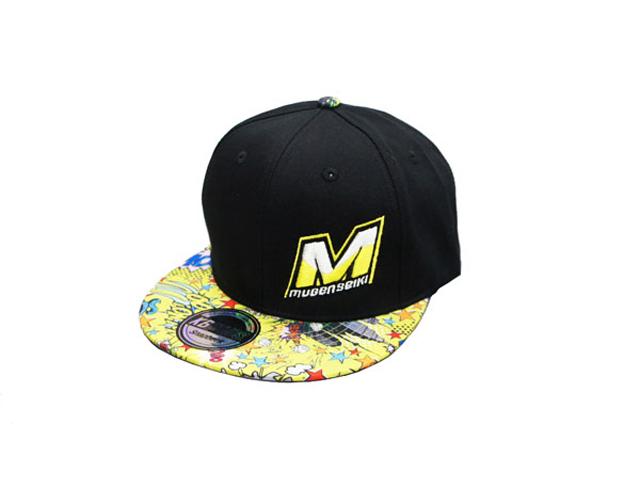 MUGEN P20107h M-LOGO CAP コミック イエロー