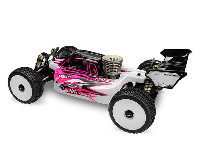 HB RACING HB204326 HB D817バギー用JConceptボディー