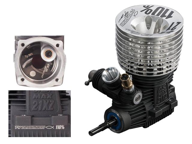 O.S.ENGINE 1217D O.S.SPEED 21XZ-B TY 110%バギー(トラギー向け)用エンジン