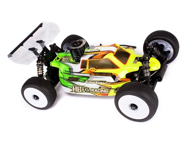 HB RACING HB204436 Silencer Buggy Bodyshell Lightweight (D817/E817 - JConcept)