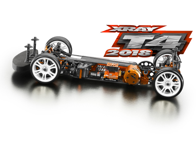 XRAY 300024 XRAY T4 2018 EPツーリングカーキット【ご予約商品です】
