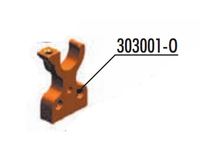 XRAY 303001O アルミレイシャフトバルクヘッド【XRAY T4 2018 】