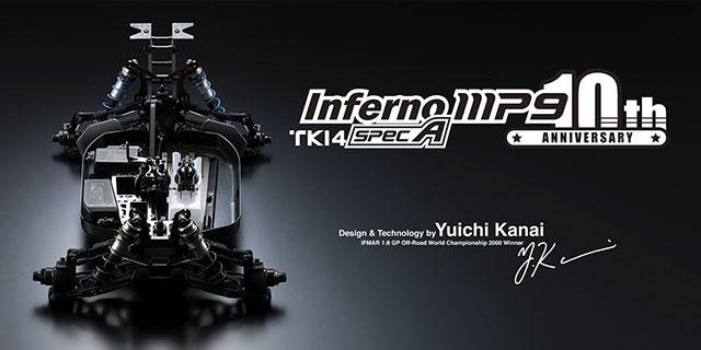 KYOSHO 33013 インファーノ MP9 TKI4 スペック A 10th Anniversary Special Edition