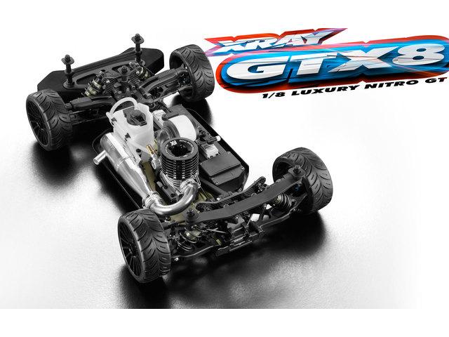 XRAY 350500 XRAY GTX8 1/8GTカーキット【ご予約商品です】